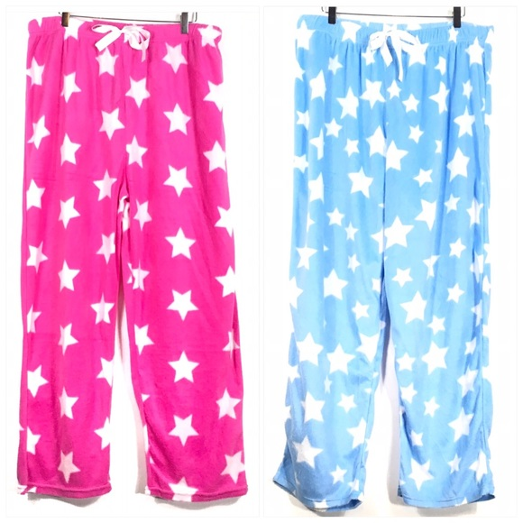 Mayfair Other - 2 Pairs of New with Tag Fleece Pajama Pants 2X